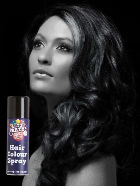 Black Colour Hair Spray