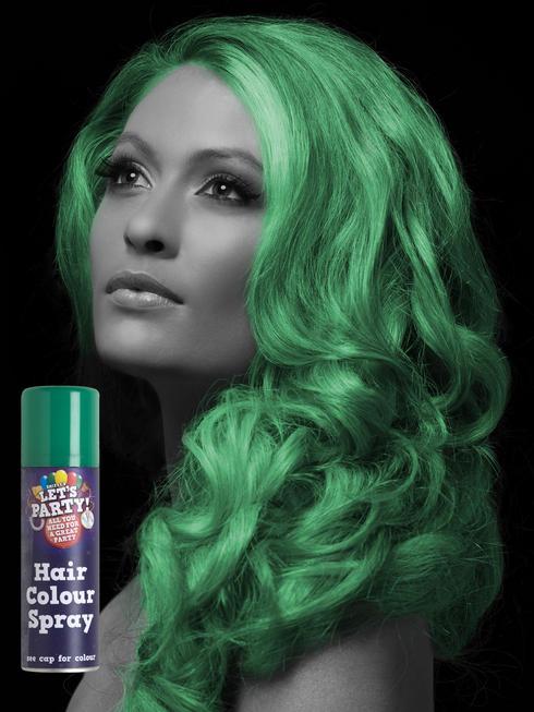 Green Colour Hair Spray