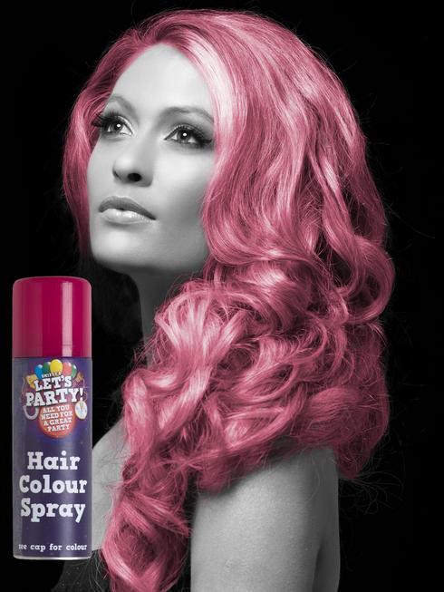 Pink Colour Hair Spray