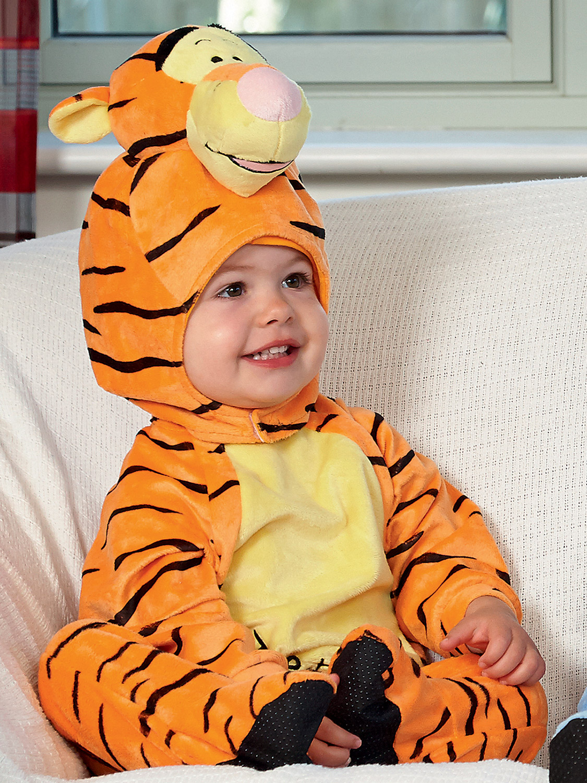 Baby Toddler Disney Winnie The Pooh Tigger Tiger Fancy Dress ...