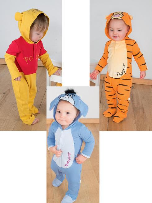 Baby Disney Romper with Hood