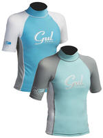 Gul Girls Short Sleeve Rash Vest