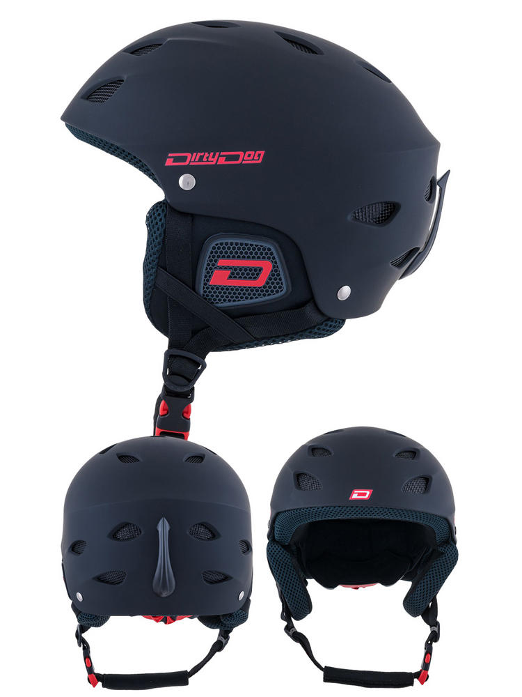 Dirty Dog Orbit Matte Black Ski Helmet