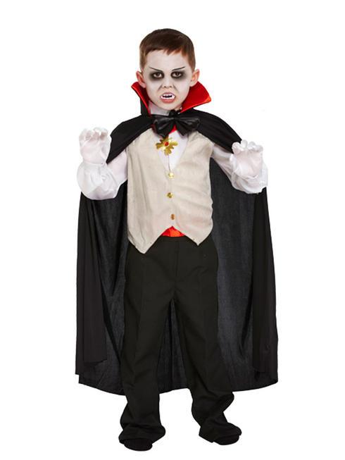 Boy's Classic Dracula Costume
