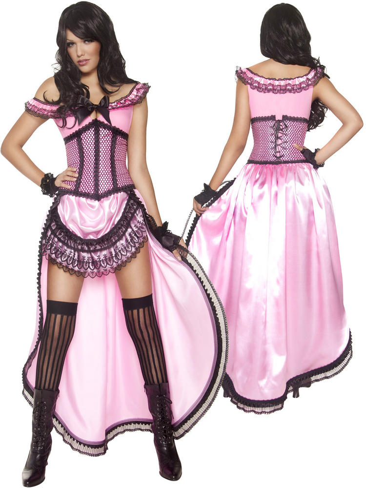 Ladies Western Authentic Brothel Babe Costume