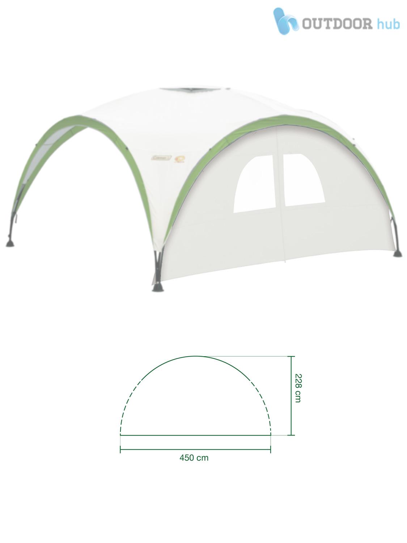Coleman-Event-Shelter-Sunwall-Wall-Window-10x10-12x12-15x15-Gazebo-Side-Panel Indexbild 12