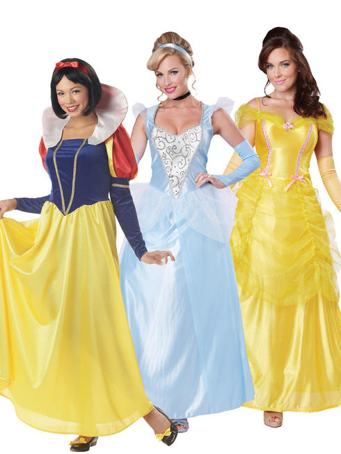 Ladies Deluxe Disney Princess Costume