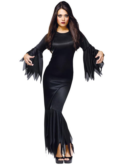 Ladies Morticia Adams Costume