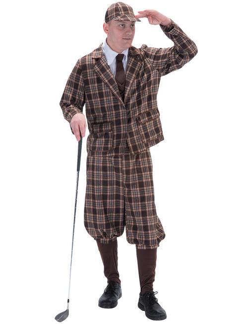 Men's 1930s Golfer Costume