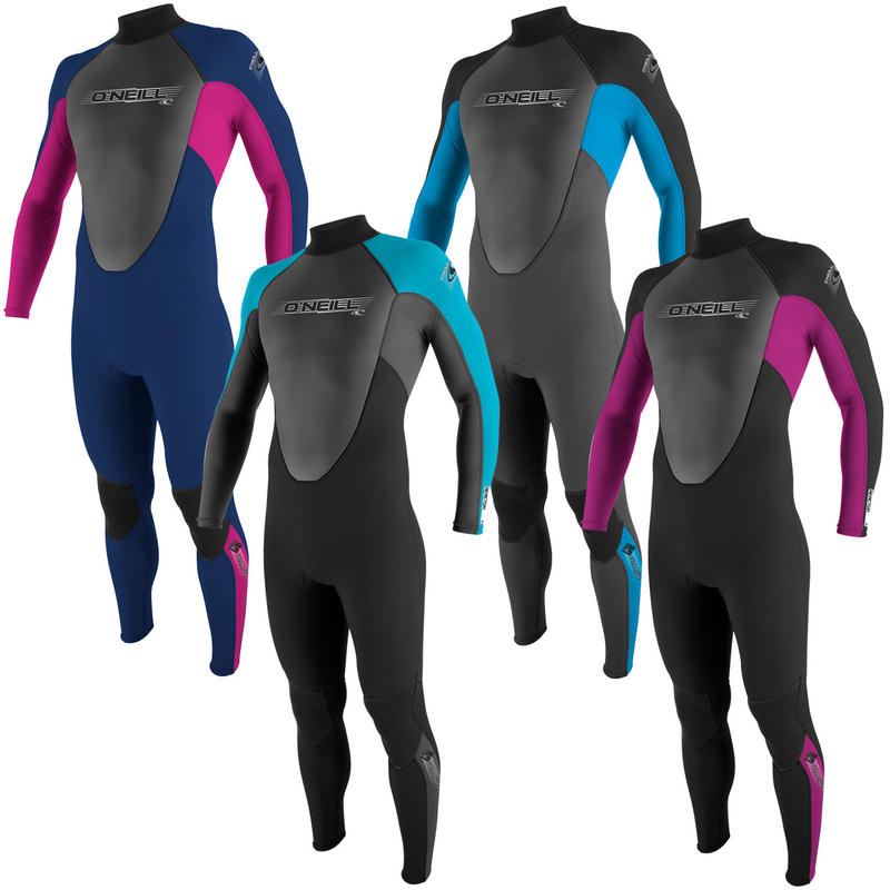O'Neill Youth Reactor Graphite 3/2 Full Wetsuit