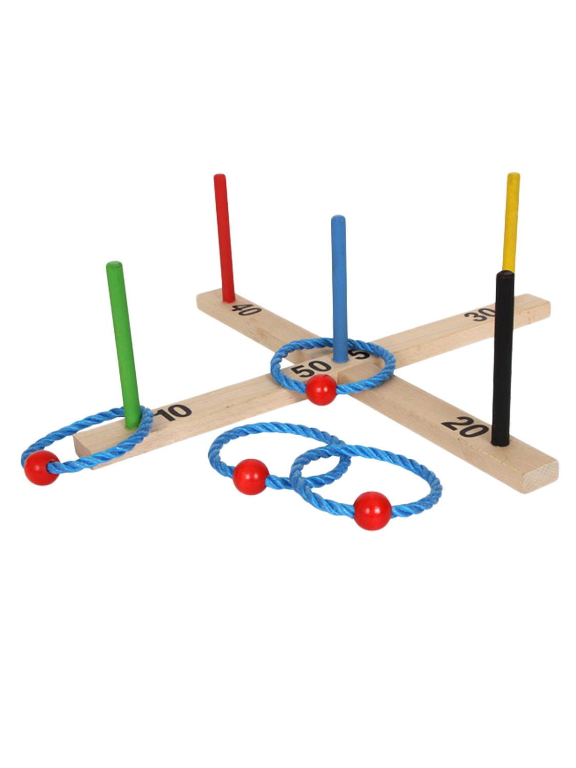 Traditional Quality Wooden Garden Games Outdoor Lawn Party ...