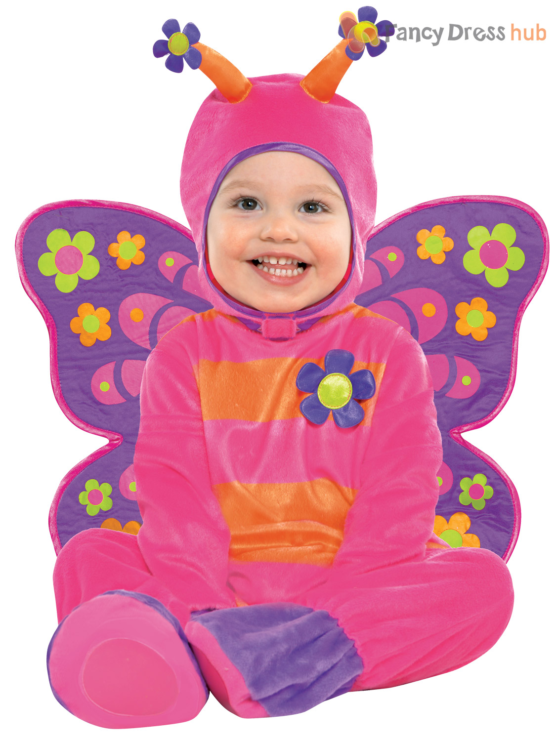 Baby-Toddler-Butterfly-Dragon-Fancy-Dress-Up-Costume-Book-Week-Day-Boys-Girls thumbnail 5