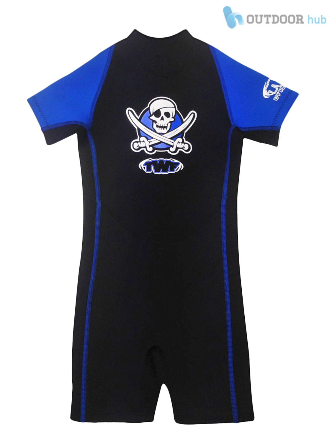 TWF-2mm-Kids-Shortie-Wetsuit-Childs-Shorty-Boys-Girls-Beach-Swim-Baby-Toddler thumbnail 5