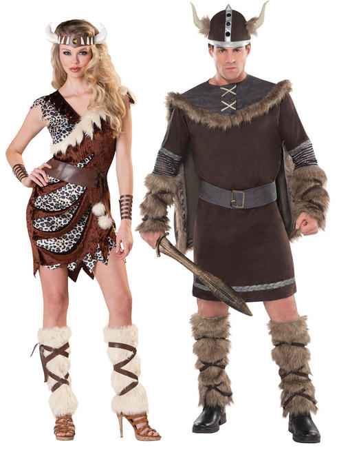 Adults Barbarian Viking Costume
