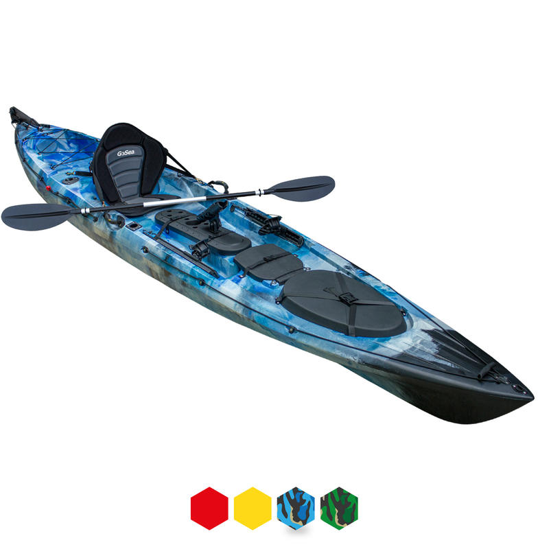 GoSea Angler Explore Pro 14 Sit-On-Top Kayak
