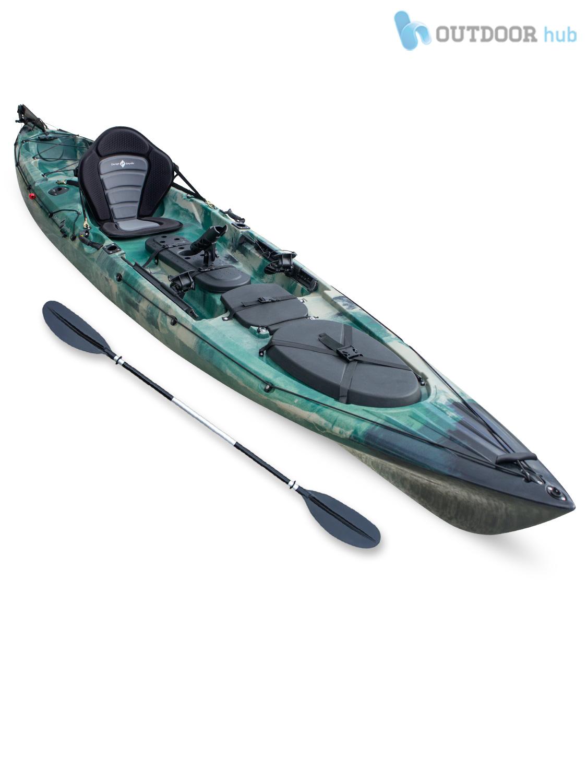 Top Kayak Single Fishing Angler Canoe Rod Holder - Concept ...
