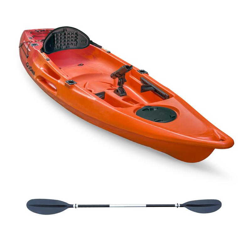 Gosea glide sit on top fishing kayak all kayak outdoor hub for Sit on fishing kayak
