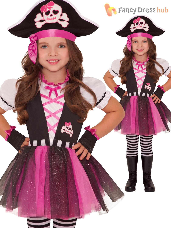 Girls pirate caribbean princess fancy dress party costume child girls pirate caribbean princess fancy dress party costume solutioingenieria Gallery