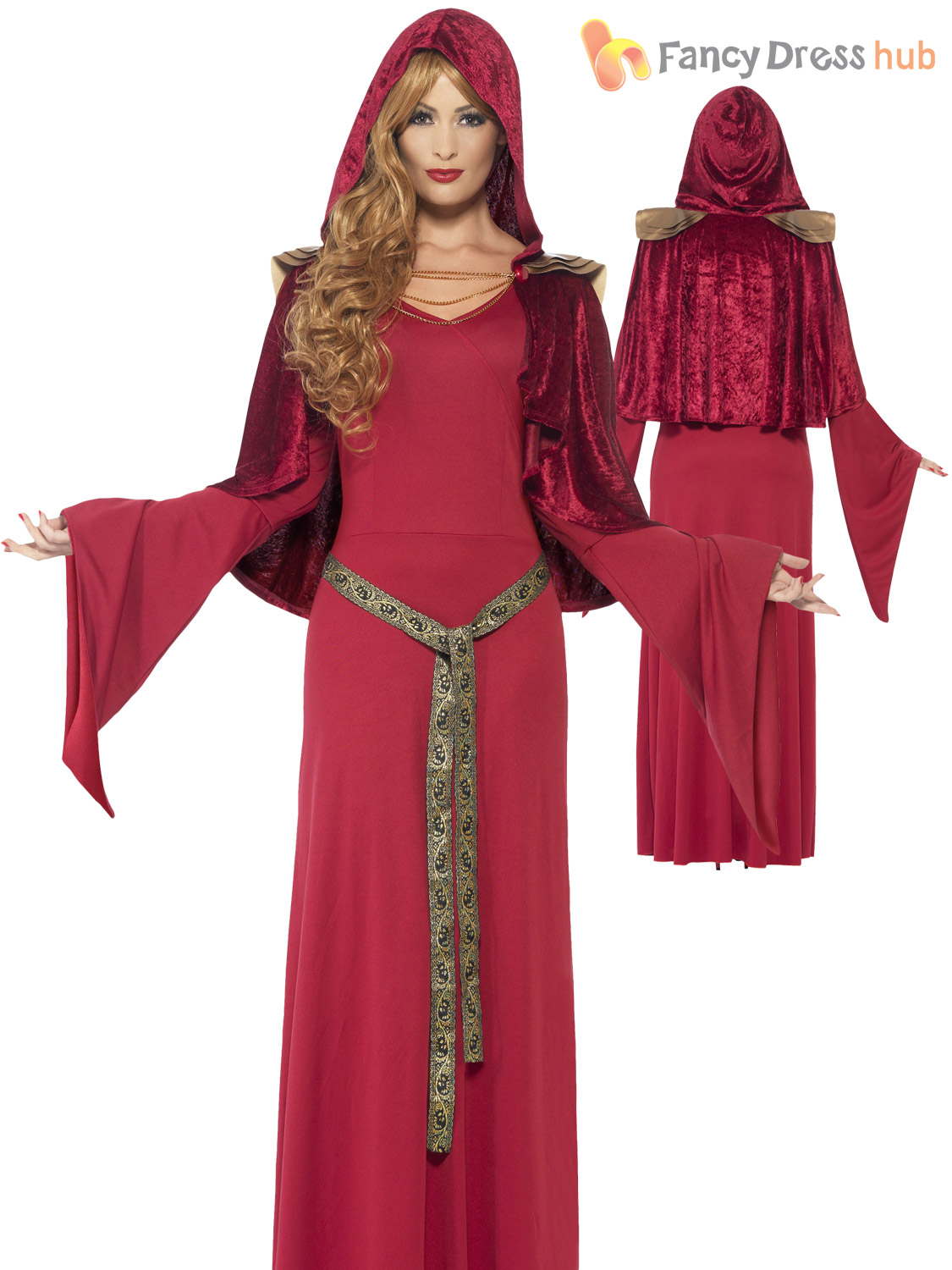 Ladies gothic medieval queen priestess costume womens game thrones ladies gothic medieval queen priestess costume womens game solutioingenieria Choice Image