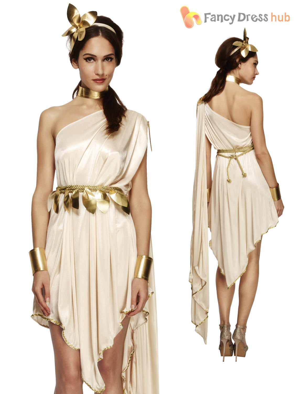 Ladies fever greek roman grecian goddess toga fancy dress costume ladies fever greek roman grecian goddess toga fancy solutioingenieria Gallery