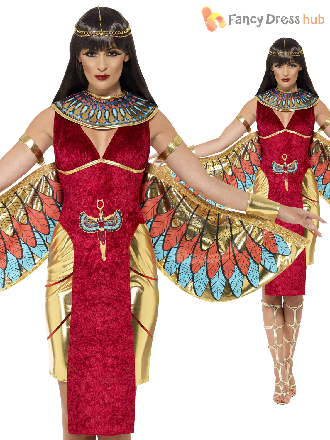 Ladies egyptian queen goddess isis ancient egypt cleopatra costume ladies egyptian queen goddess isis ancient egypt cleopatra solutioingenieria Choice Image