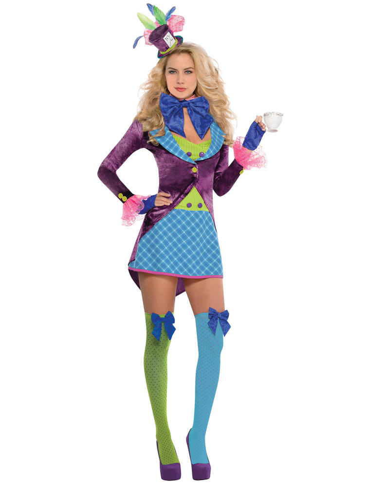 Ladies Mad Hatter Costume