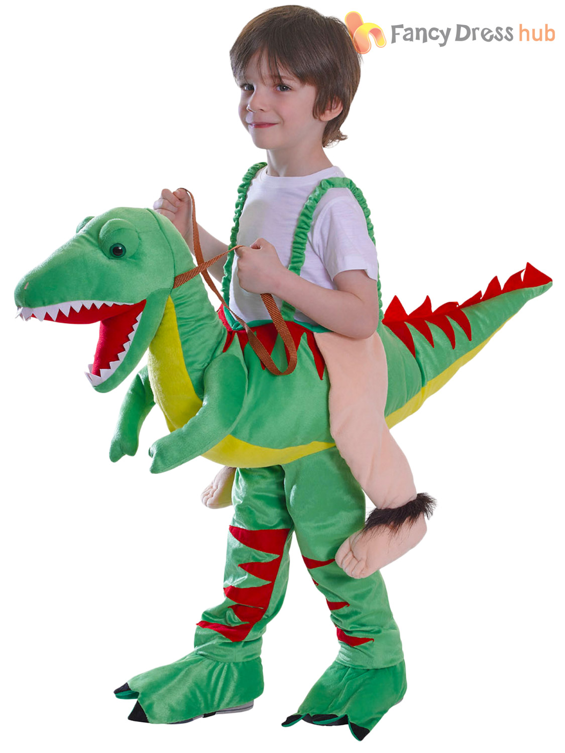 ... Picture 2 of 2  sc 1 st  eBay & Bristol Novelty CC044 Riding Dinosaur One Size | eBay