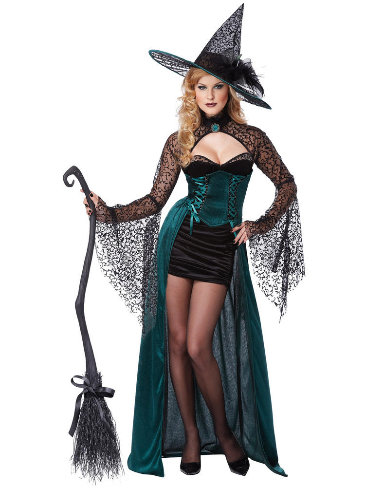 Ladies Enchantress Witch Costume