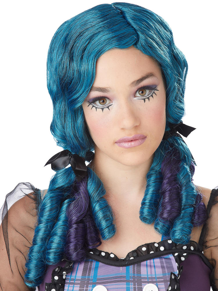 Curly Broken Doll Wig