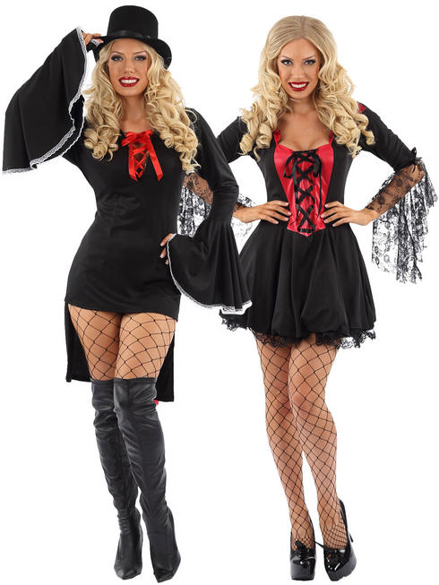 Ladies Miss Dracula Vampire Costume