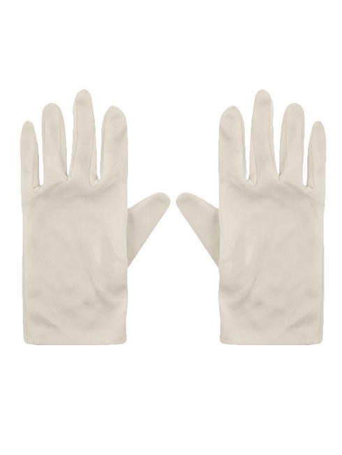 Child's White Gloves