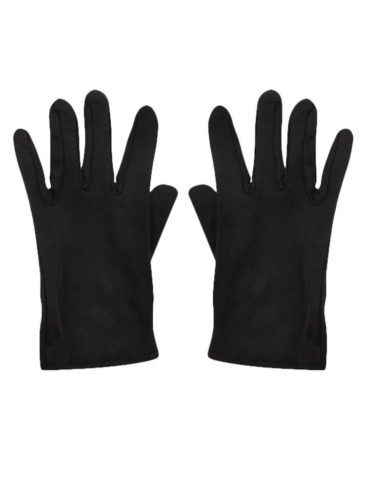 Adult's Black Gloves