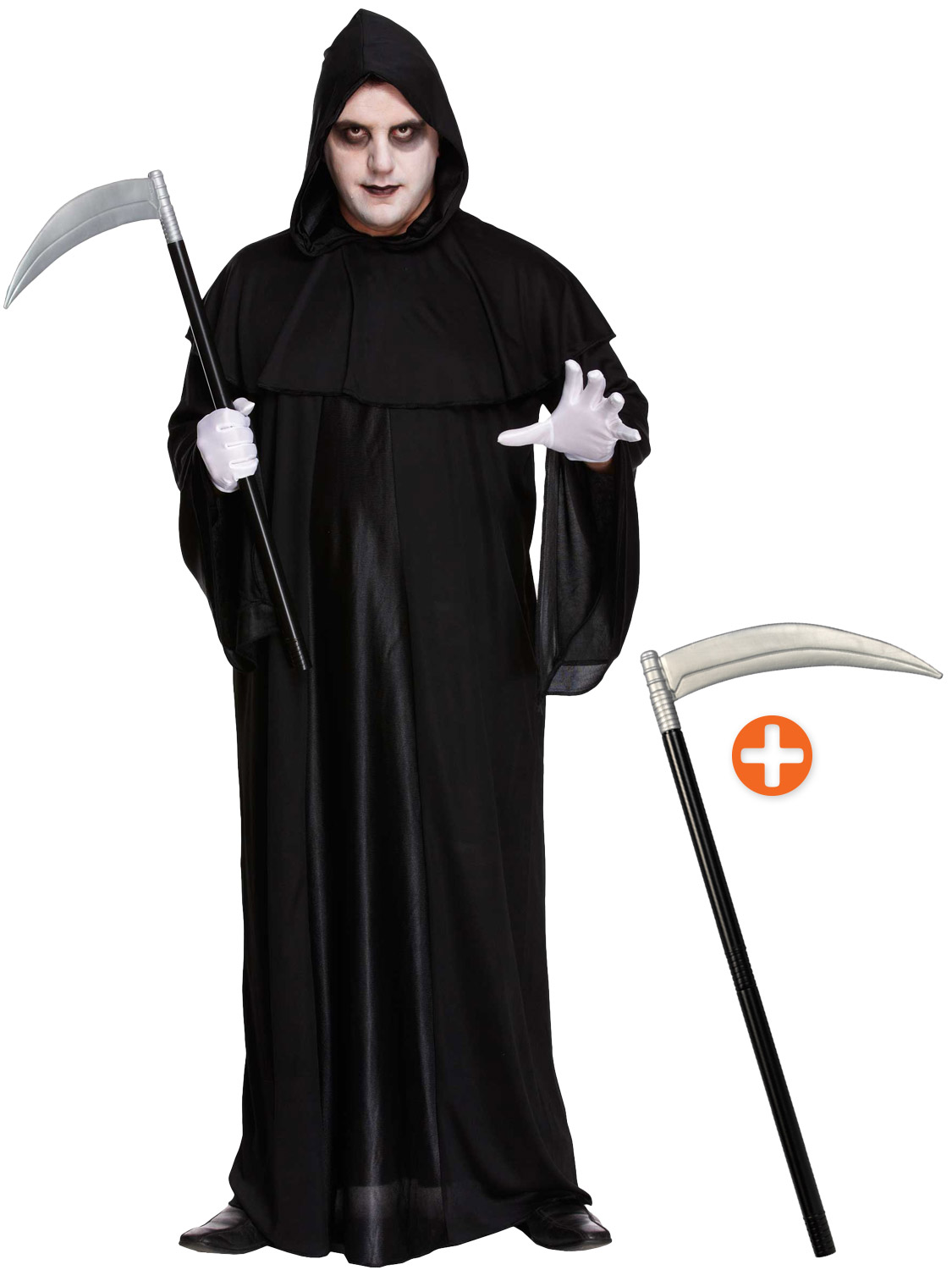 how to make a grim reaper scythe out of paper