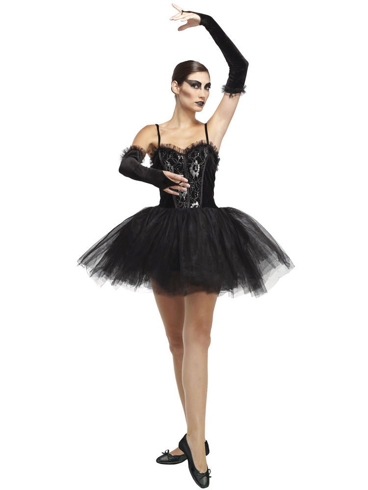 Ladies Gothic Ballerina Costume