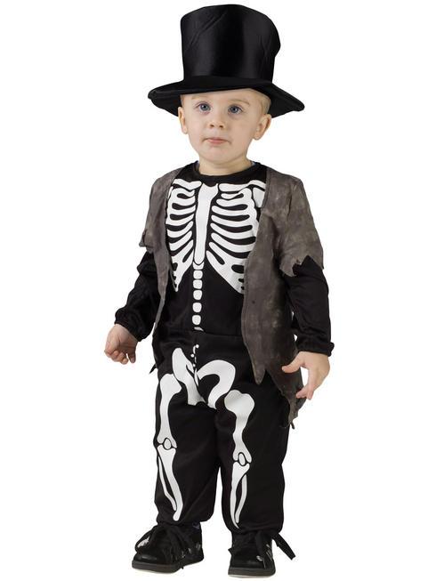 Boy's Happy Skeleton Costume