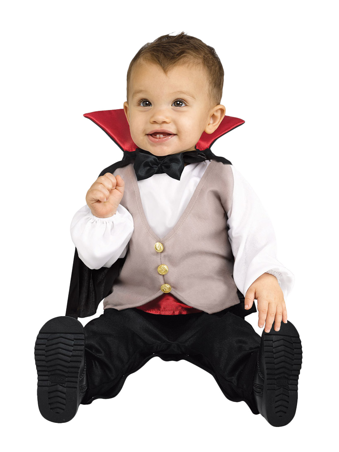 baby toddler halloween fancy dress vampire babygrow costume boys age 1 2 years ebay. Black Bedroom Furniture Sets. Home Design Ideas