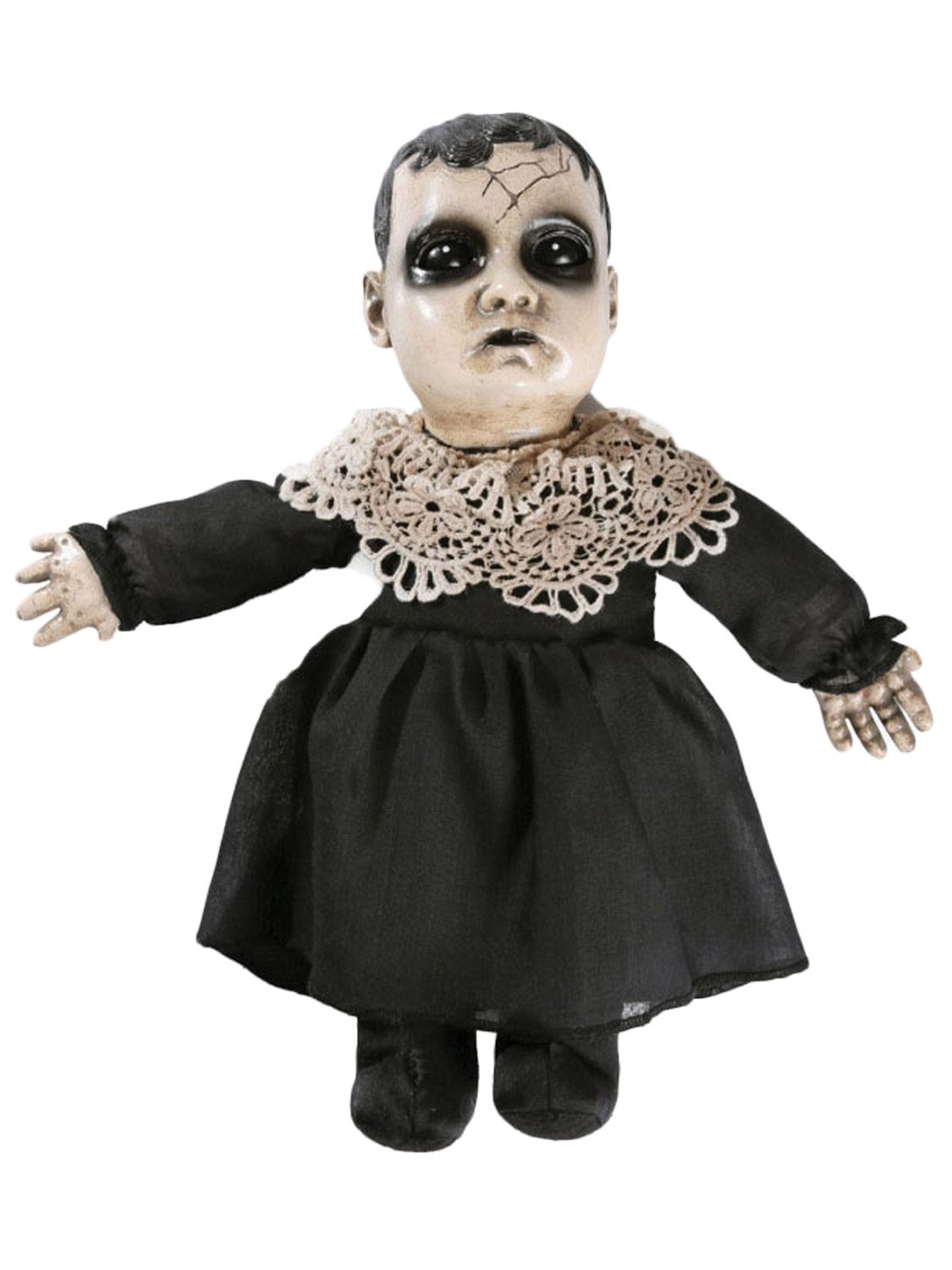 scary talking haunted doll prop sound activated halloween party