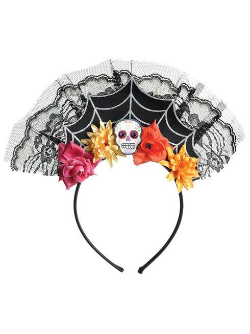 Day Of The Dead Tiara Headband