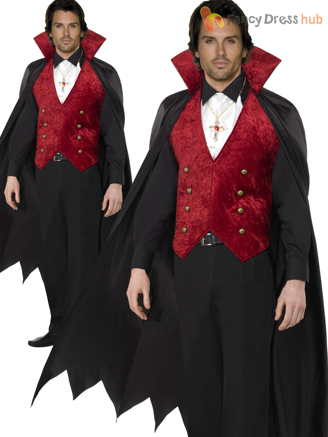 Adult mens deluxe count dracula vampire costume halloween fancy adult mens deluxe count dracula vampire costume halloween solutioingenieria Choice Image