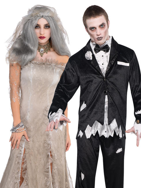 Adults Deadly Catch Bride or Groom Costume