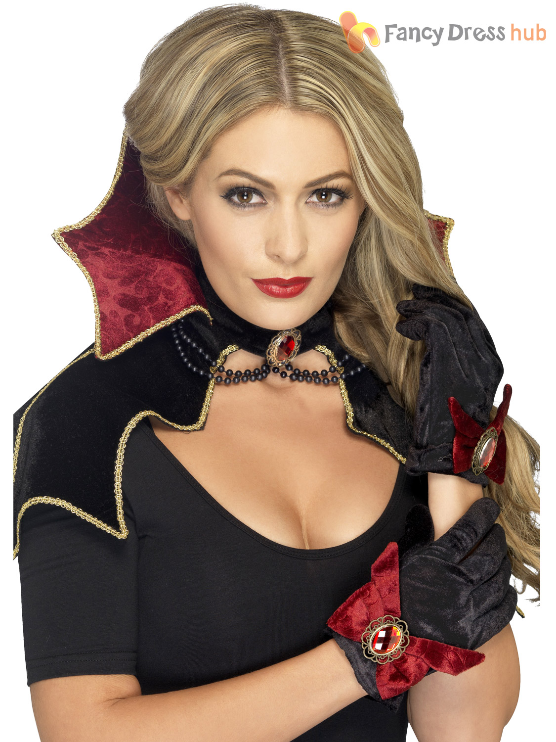 how to make a vampire cape with a collar