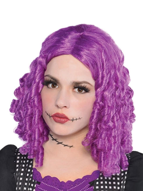 Damaged Doll Purple Wig