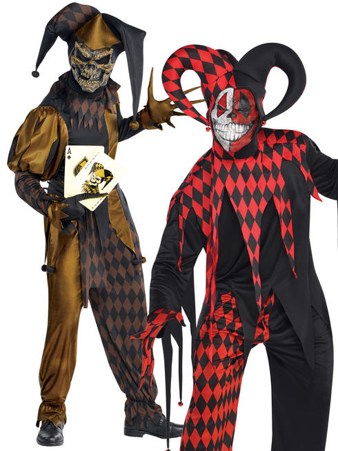 Men's Jokers Wild Costume