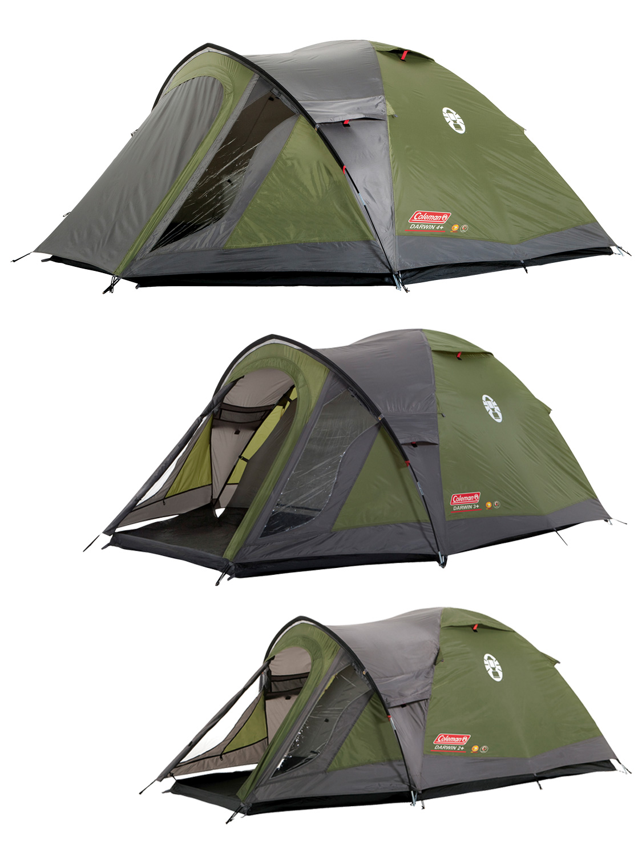 Coleman Darwin Plus Tent 2 3 4 Man Person Tent Camping