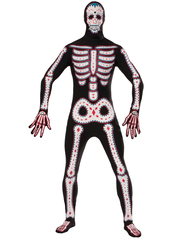 men's day of the dead costume   all halloween   fancy dress hub