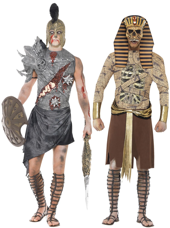 Adult Mens Ancient Egypt Zombie Pharaoh Gladiator