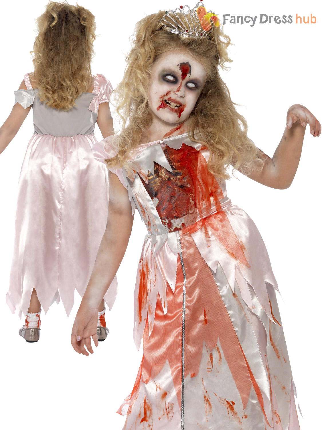 girls zombie princess costume dorothy red riding fairytale halloween