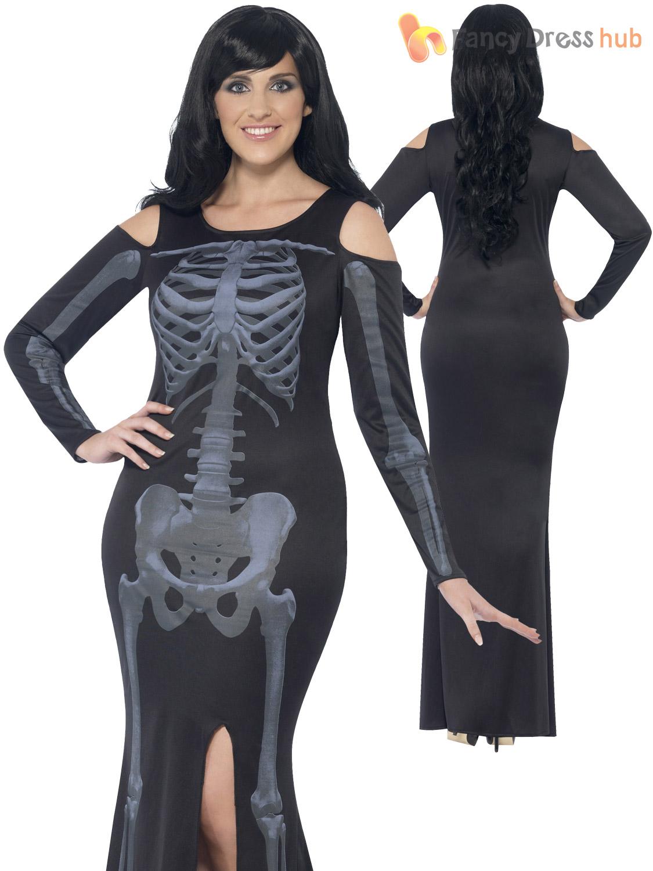 baf8b51e69e Picture 2 Of 5 ... Sc 1 St EBay. image number 17 of plus size skeleton  costume ...