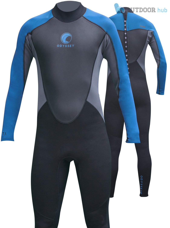 Odyssey core 3 2mm mens full wetsuit surf swim kayak long steamer wet suit s xxl ebay for Children s swimming pool wetsuit