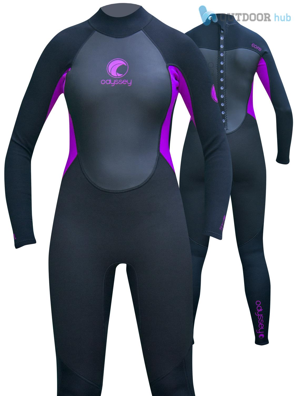 Odyssey-Core-3-2mm-Ladies-Womens-Full-Wetsuit-Surf-Swim-Kayak-Long-Wet-Suit-6-20 thumbnail 22